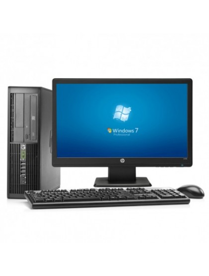 "PC HP 6300 pro i5 3.2 ghz 8Go 250 Go +lcd 19"" Wide"