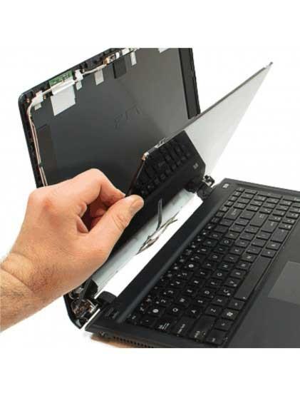 """DALLE ECRAN HP/Dell/Ibm 14""""-15.6-17'' X-BLACK LED Pour PC Port"""