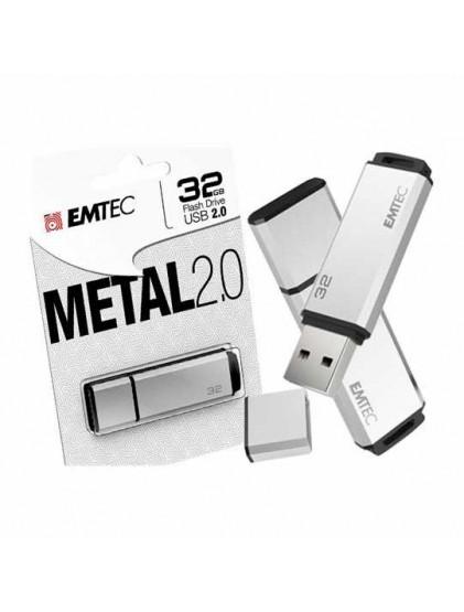 Clé USB 32GB EMTEC METAL