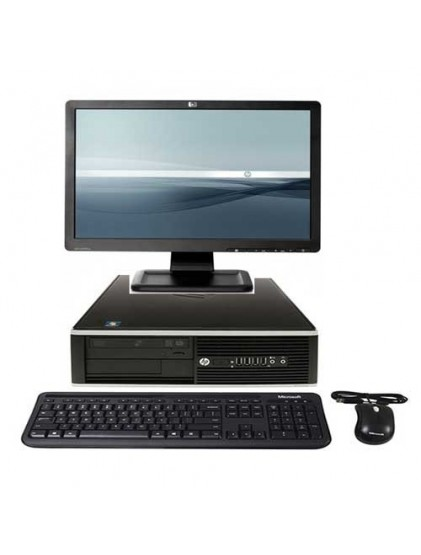 """PC HP 6300 pro i5 3.2 ghz 4Go 500 Go +lcd 19"""" Wide"""