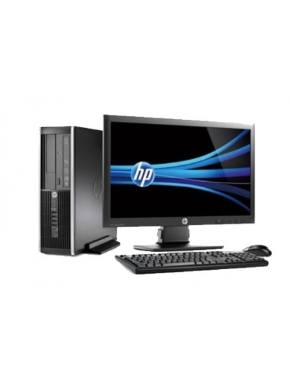 "PC HP 6300 pro i5 3.2 ghz 4Go 250 Go +led 20"" p201 Wide"
