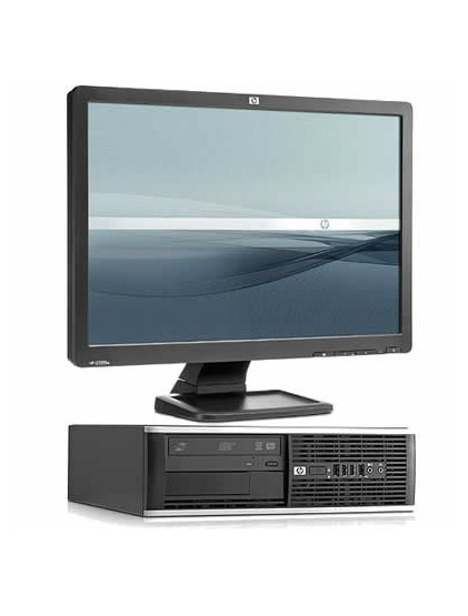 "PC HP 6300 pro i5 3.2 ghz 4Go 250 Go +lcd 19"" Wide"